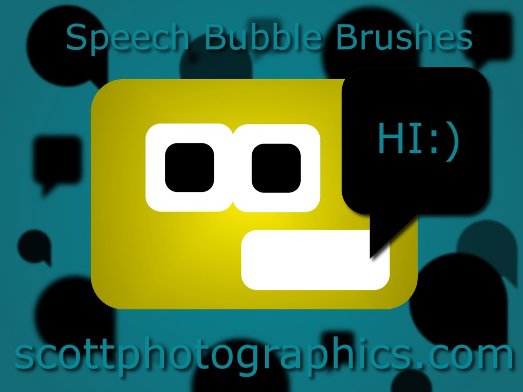 Free Speech-Bubble Brushes GIMP